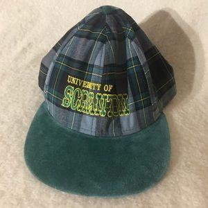 Vintage University of Scranton SnapBack Hat